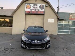 2016 Hyundai Veloster for sale at Utah Credit Approval Auto Sales in Murray UT