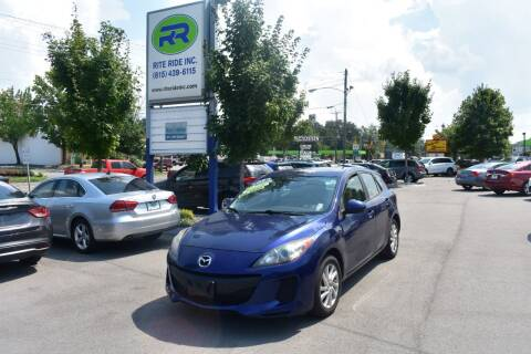 2013 Mazda MAZDA3 for sale at Rite Ride Inc in Murfreesboro TN