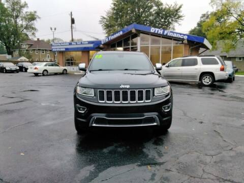 2015 Jeep Grand Cherokee for sale at DTH FINANCE LLC in Toledo OH