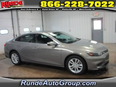 2018 Chevrolet Malibu for sale at Runde Chevrolet in East Dubuque IL