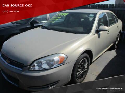 2008 Chevrolet Impala for sale at CAR SOURCE OKC in Oklahoma City OK