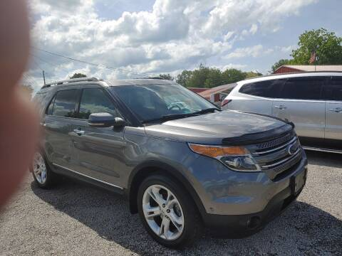 2012 Ford Explorer for sale at VAUGHN'S USED CARS in Guin AL