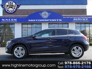 2018 Mercedes-Benz GLA for sale at Highline Group Motorsports in Lowell MA