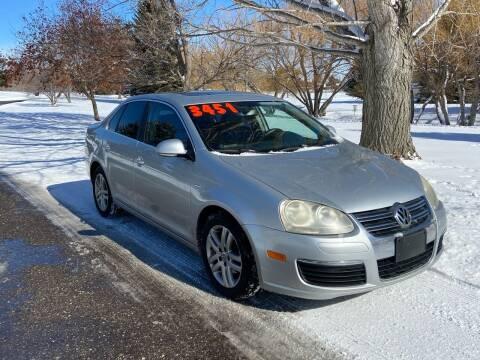 2007 Volkswagen Jetta for sale at BELOW BOOK AUTO SALES in Idaho Falls ID