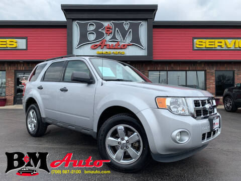2012 Ford Escape for sale at B & M Auto Sales Inc. in Oak Forest IL