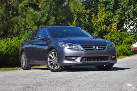2014 Honda Accord for sale at Rosedale Auto Sales Incorporated in Kansas City KS