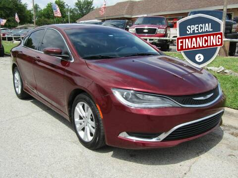 2015 Chrysler 200 for sale at Dealer One Auto Credit in Oklahoma City OK