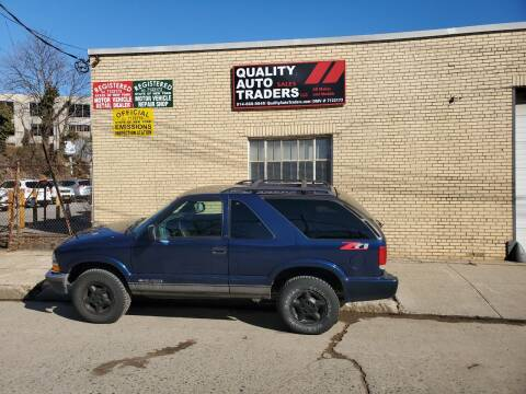 2001 Chevrolet Blazer for sale at Quality Auto Traders LLC in Mount Vernon NY