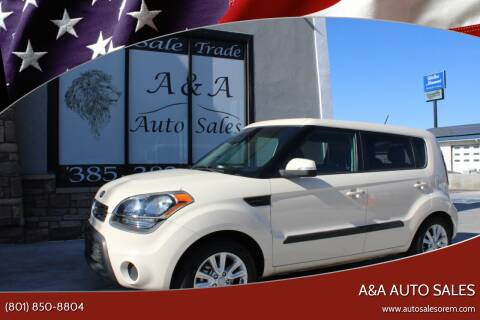 2013 Kia Soul for sale at A&A Auto Sales in Orem UT