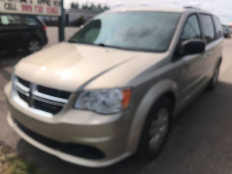 2015 Dodge Grand Caravan for sale at Strait-A-Way Auto Sales LLC in Gaylord MI