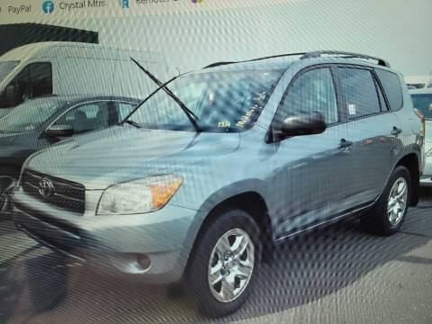 2007 Toyota RAV4 for sale at CRYSTAL MOTORS SALES in Rome NY