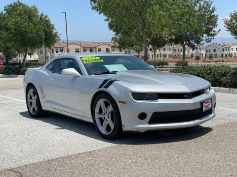 2014 Chevrolet Camaro for sale at Esquivel Auto Depot in Rialto CA