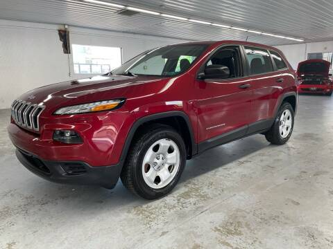2017 Jeep Cherokee for sale at Stakes Auto Sales in Fayetteville PA