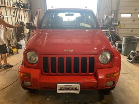 2004 Jeep Liberty for sale at SPRINGFIELD PRE-OWNED in Springfield IL