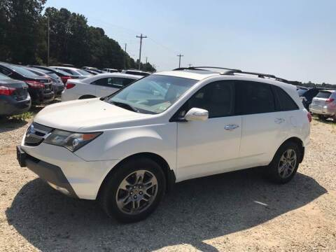 2007 Acura MDX for sale at Delta Motors LLC in Jonesboro AR