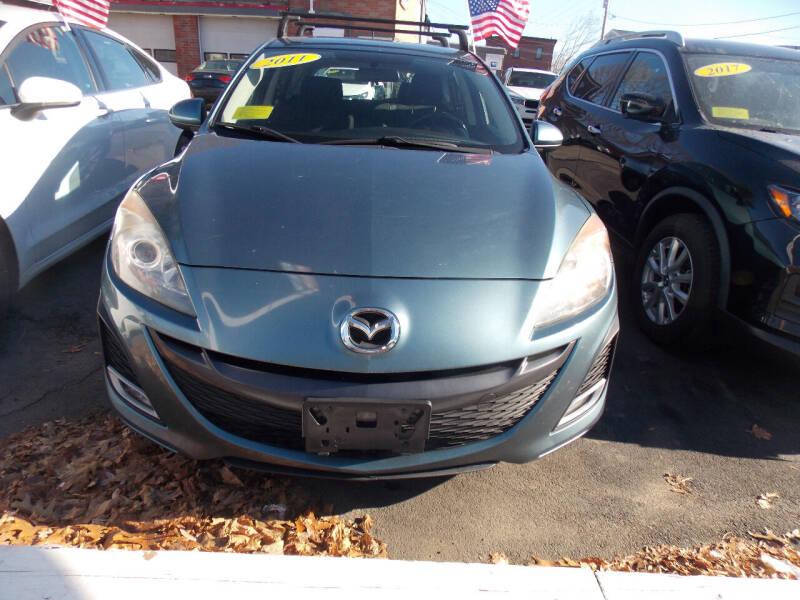 2011 Mazda MAZDA3 for sale at Washington Street Auto Sales in Canton MA