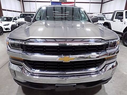 2017 Chevrolet Silverado 1500 for sale at Texas Motor Sport in Houston TX