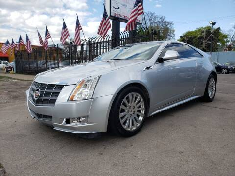2011 Cadillac CTS for sale at Gus's Used Auto Sales in Detroit MI
