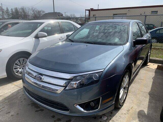 2012 Ford Fusion for sale at Martell Auto Sales Inc in Warren MI