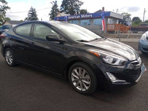 2014 Hyundai Elantra for sale at All American Motors in Tacoma WA