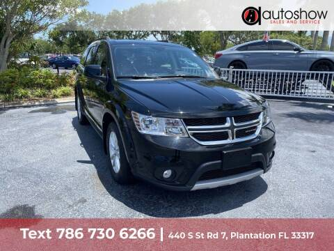 2014 Dodge Journey for sale at AUTOSHOW SALES & SERVICE in Plantation FL