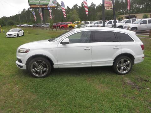 2013 Audi Q7 for sale at Ward's Motorsports in Pensacola FL