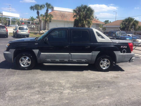 2002 Chevrolet Avalanche for sale at CAR-RIGHT AUTO SALES INC in Naples FL