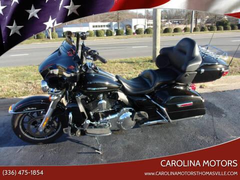 2016 Harley-Davidson FLHTK for sale at CAROLINA MOTORS in Thomasville NC