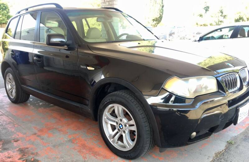 2006 BMW X3 for sale at MotorSport Auto Sales in San Diego CA