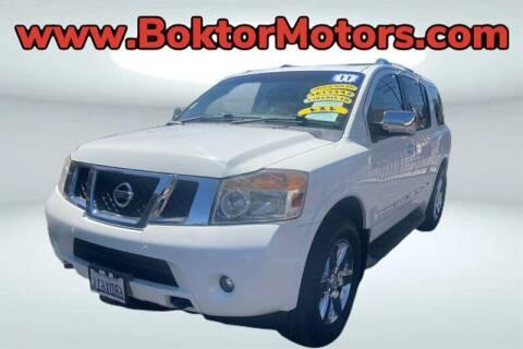 2011 Nissan Armada for sale at Boktor Motors in North Hollywood CA