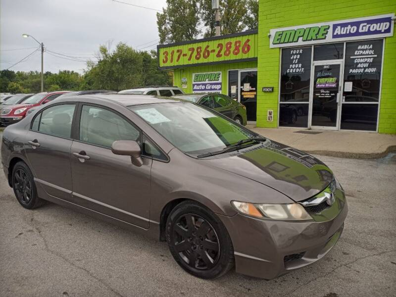 2009 Honda Civic for sale at Empire Auto Group in Indianapolis IN