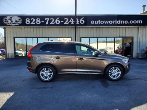 2015 Volvo XC60 for sale at AutoWorld of Lenoir in Lenoir NC