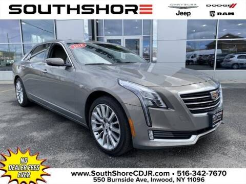 2018 Cadillac CT6 for sale at South Shore Chrysler Dodge Jeep Ram in Inwood NY