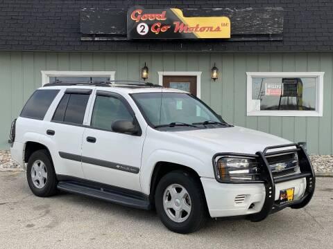 2003 Chevrolet TrailBlazer for sale at Good 2 Go Motors LLC in Adrian MI
