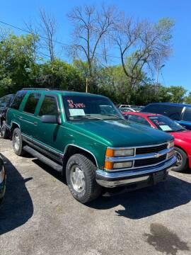 1999 Chevrolet Tahoe for sale at Big Bills in Milwaukee WI