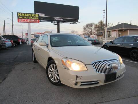 2011 Buick Lucerne for sale at Hanna's Auto Sales in Indianapolis IN