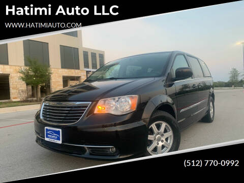 2012 Chrysler Town and Country for sale at Hatimi Auto LLC in Austin TX