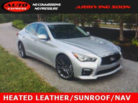 2017 Infiniti Q50 for sale at Auto Express in Lafayette IN