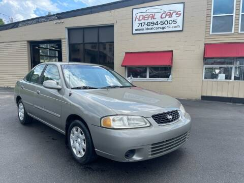 2001 Nissan Sentra for sale at I-Deal Cars LLC in York PA