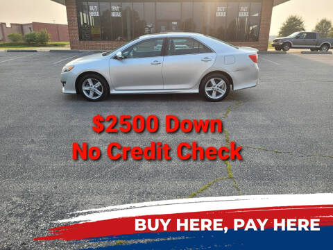 2012 Toyota Camry for sale at BP Auto Finders in Durham NC