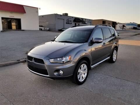 2012 Mitsubishi Outlander for sale at Image Auto Sales in Dallas TX