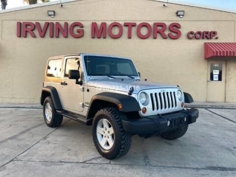 2010 Jeep Wrangler for sale at Irving Motors Corp in San Antonio TX