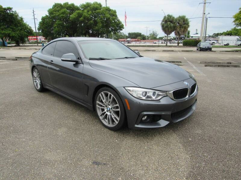 2016 BMW 4 Series for sale at United Auto Center in Davie FL