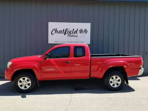 2007 Toyota Tacoma for sale at Chatfield Motors in Chatfield MN