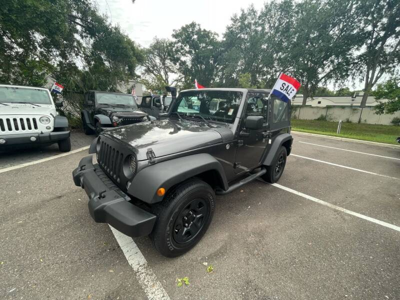 2016 Jeep Wrangler for sale at Bay City Autosales in Tampa FL