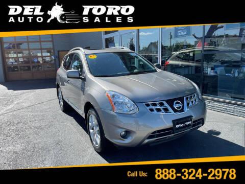 2011 Nissan Rogue for sale at DEL TORO AUTO SALES in Auburn WA