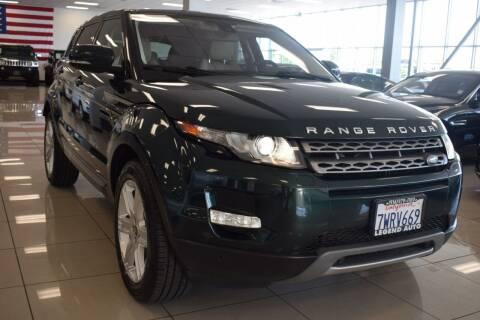 2013 Land Rover Range Rover Evoque for sale at Legend Auto in Sacramento CA