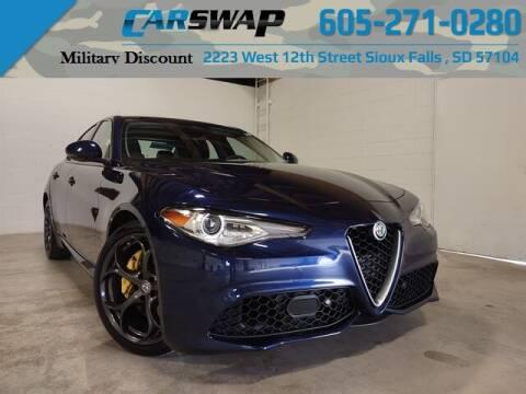 2018 Alfa Romeo Giulia for sale at CarSwap in Sioux Falls SD