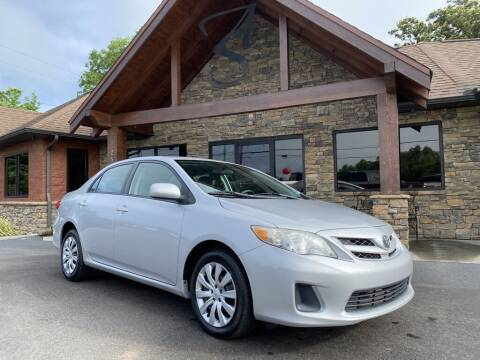 2012 Toyota Corolla for sale at Auto Solutions in Maryville TN