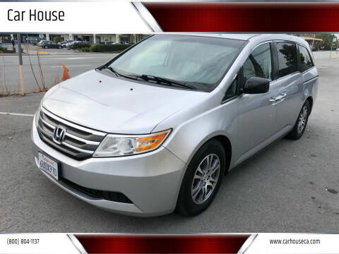 2012 Honda Odyssey for sale at Car House in San Mateo CA